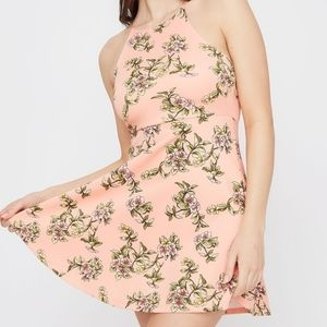 SWS floral fit and flare dress